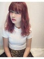 アリス ヘア デザイン(Alice Hair Design)Alice☆ハイライト×ピンク