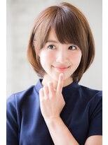 アンアミ オモテサンドウ(Un ami omotesando)【Unami】小倉太郎 オトナ女子ひし形ショートボブ