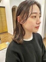 ヘアーアイスカルテット(HAIR ICI QUARTET)イヤリングカラー × ハスキーベージュ