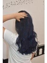 ヘアーサロン エール 原宿(hair salon ailes)(ailes 原宿)style374 バレイヤージュ☆ブルージュ