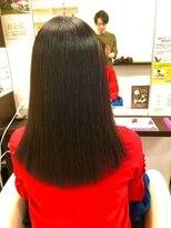 ヴィオレッタ ヘアアンドスペース(VIOLETTA hair&space)縮毛矯正ストレート
