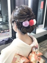 【VOGES友田】結納ヘアセット