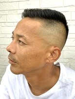 ヘアーグルーミング アイム(Hair &Grooming aim)【メンズカット】黒髪&ハイフェード