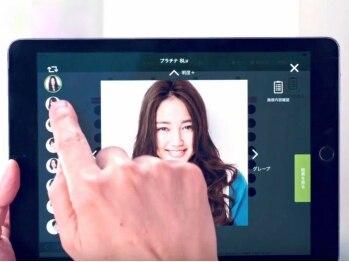 ヘアーガーデンリプレイ(Hair Garden REPLAY)の写真/iPadを使用した≪カラーオペレーションシステム(カラオペ)≫導入!!想像通りのカラーを再現します♪