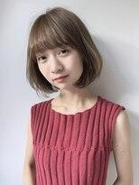 コクーン(Cocoon)【SHUN】抜け感ミルクティーカラーボブディ