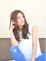 リゾナビューティーパーク (Rezona Beauty Park)透け感で女らしいロングスタイル