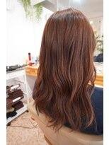 オーガニックヘアサロン ツリー(organic hair salon Tree)セミロングナチュラル