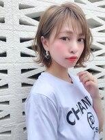 ノット(Knot)【knot阿部展大】色っぽ可愛いゆるふわ柔らかパーマボブ☆