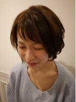 ヘアー カラー キー(HAIR color KEY)大人可愛い・ショートボブ