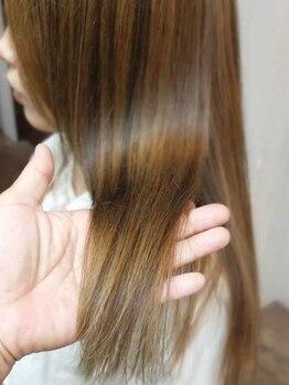 ネージュヘアードレッシング (NEIGE HAIR DRESSING)の写真/【TOKIOトリートメント取扱】厳選された高品質の薬剤&高い技術力で、ダメージを受けた髪も美しい髪に…♪