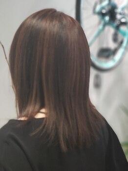 シーニュ ヘアー デザイン(cygne hair design)の写真/リピーター多数☆大人気の『イルミナカラー』で今までにない透明感とツヤをあなたも実感…♪