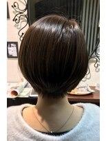 髪質改善ヘアエステ アリュール(allure)美シルエット!ショートボブ【新宿 髪質改善専門店 allure】