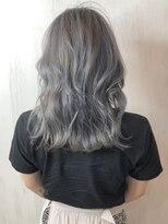 ソース ヘア アトリエ(Source hair atelier)【SOURCE】プラチナグレージュ