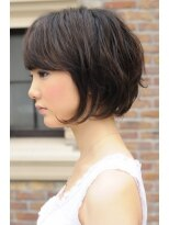 ダミア(DAMIA)24■横顔美人×剛力彩芽風エアリーショートボブ×黒髪・暗髪