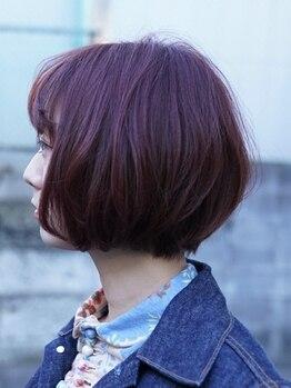 ベル (hair design Belu)の写真/ナチュラルからトレンドスタイルまでお任せ下さい♪マンツーマン施術で可愛い似合わせヘアを創ります☆