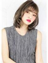 ヘアサロンガリカアオヤマ(hair salon Gallica aoyama)『 グレージュ & 毛束感 』無造作スタイル ☆くびれミディ