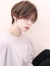 リゴ ヘアー(RIGO hair)小顔ハイライトカラー切りっぱなし濡れ髪イワサキカツヤ 1