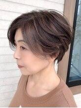 ヘアードットツミキ(HAIR.TSUMIKI)立体のあるデザインカラー