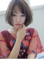 柔らかな質感の女っぽショート☆