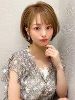 LallYou【錦糸町】色気ある大人可愛いフォギーベージュショート