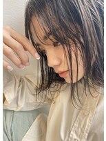 ギフト(GIFT)【GIFT】切りっぱなし フレンチボブ シースルーバング 黒田瞳