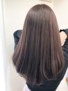 ルーツ(ROOTS)の写真/話題の《酸熱トリートメント》取扱い☆うねりやエイジング毛でお悩みの方へ!髪質改善ケアで自然な仕上がり