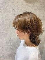 レザボア ヘアーアンドビューティー ハイブ店(reservoir Hair&Beauty Haibe)ウルフミディ