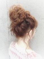 ヘアセットアンドメイクアップ シュシュ(Hair set&Make up chouchou)メッシーバン★ふわくしゃ