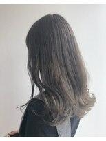 ヘアメイク オブジェ(hair make objet)グレージュ グラデーションカラー