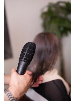 ヌーヌ(NU NU)の写真/色モチも発色も◎!!≪ダメージレスカラー≫★モルビドスチ‐ム&高濃度処理剤で髪にしっかり潤いと栄養を☆