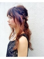 パーフェクトビューティーイチリュウ(perfect beauty ichiryu)ふんわりハーフアップ