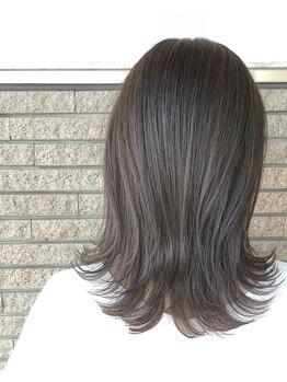 アソート 小牧店(ASSORT)の写真/ダメージを補修しながら毛先まで輝く美髪に♪お悩みにぴったりの薬剤を厳選し理想のうるツヤ髪を叶えます☆