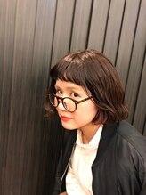 ヘアーデザイン キャラ(HAIR DESIGN KALA)個性派ボブ ベビーバング×インナーカラー