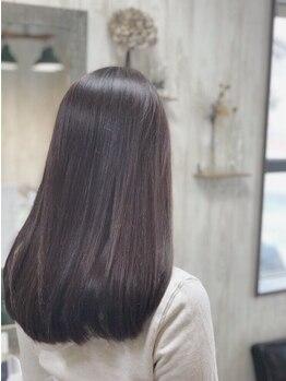 ニコプラス(NICO+ Hair Nail&School)の写真/業界最先端!!≪ULTOWAトリートメント≫取扱いサロン☆なめらかな手触りを実感!誰もが羨む美髪へ導く―。