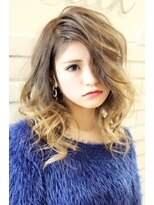 ヘアーグランデシーク(Hair Grande Seeek)王道♪人気のミルクティーグラデcolor♪