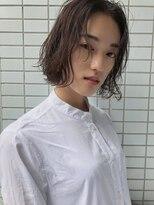 ファースト 仙台店(first)【松根ショートボブ】大人可愛いフレンチボブ×ブランジュカラー