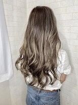 アルマヘア(Alma hair)ツヤ感☆アッシュグレージュ
