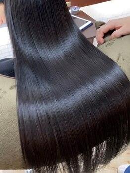 アミーベルレーヴ(AMI a BELLE Reve)の写真/【髪質改善専門店】トップレベルの技術でツヤのある美しく輝く髪へと導きます☆《髪質改善ヘアエステ》