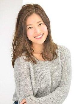 イメージア 武蔵小杉店(IMAGE A)の写真/くせ毛を活かしたカットで気になるお悩みも解決◎あなたの魅力を引き出す仕上がりで自分の髪が好きになる♪