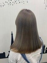 ヘアーサロン エール 原宿(hair salon ailes)(ailes 原宿)style453 スモーキーパール☆ストレートパーマ