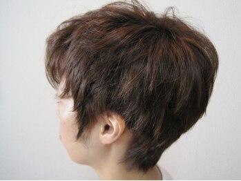 シャノアールの写真/ショートヘアなら当店にお任せ☆骨格・髪質をみてブローだけでも決まる☆思い切って雰囲気を変えたい方に◎