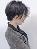 【morio池袋】抜け感黒髪大人ショート☆