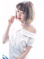 ヘアーサロン エール 原宿(hair salon ailes)(ailes原宿)style248 ワイドバング☆ソフトアルトボブ