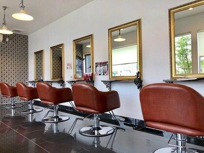 アローヘアーサロン(arrow.hair salon)の写真