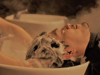 """グースカ(guusca)の写真/【女性Stylistのみ♪】期間限定「""""超極寒""""クールヘッドスパ¥3500」 「炭酸泡モコヘッドスパ¥5500」"""