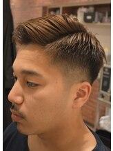メンズヘアーサロン シンジョウ(Men's hair salon Shinjo)7:3ショート