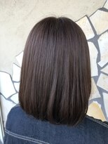 フェリーク ヘアサロン(Feerique hair salon)パールアッシュのミディアムボブ