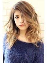 ヘアーグランデシーク(Hair Grande Seeek)外国人風ミルクティーグラデcolor♪