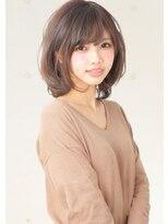 ユキオグループグラン(YUKIO GROUP GRAN)ふんわりピンクベージュ♪フェアリー☆大人小顔ボブ
