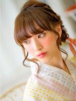 ショコラウメダ(Chocolat UMEDA)キレイ女子☆浴衣HAIRセット